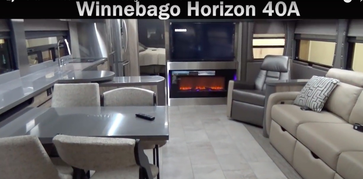 winnebago horizon 40A rv